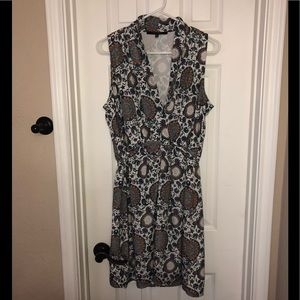 19 cooper bold printed floral dress